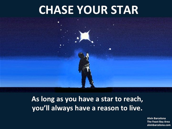 Chase Your Star Alvin Barcelona